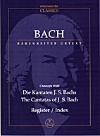 Die Kantaten J. S. Bachs The Cantatas of J.…