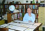 Author photo. John Deaton in office, 2011