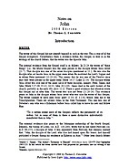 Notes on John by Thomas L. Constable