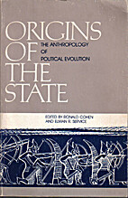 Origins of the State: The Anthropology of…
