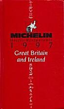 Michelin Red Guide Great Britain & Ireland…