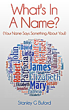 What's In A Name?: Your Name Says…