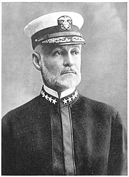 Author photo. Source: The Life of Admiral Hahan, Charles Carlisle Taylor, 1920, London