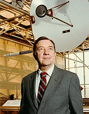 Author photo. James A. Van Allen [credit: NASA]
