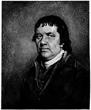 Author photo. The Reverend William Hazlitt (1737-1820), from a miniature portrait by his son, John Hazlitt (1767-1837)