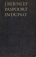 Paspoort in duplo by J. Bernlef