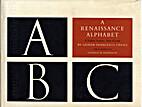 A Renaissance Alphabet by Giovan F. Cresci