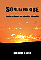 SONDAY SONRISE: Homilies for Sundays and…