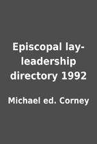Episcopal lay-leadership directory 1992 by…