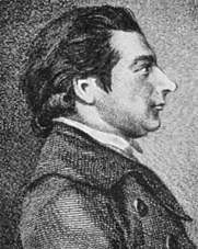 Author photo. Engraving by Rein Vinkeles (1741-1816)