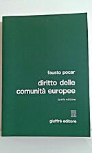 Diritto delle Comunità Europee by Fausto…