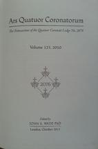 Ars Quatuor Coronatorum. Vol. 123 The…