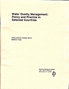 Water Quality Management: Policy and…