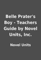 Belle Prater's Boy - Teachers Guide by…