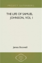 Life of Johnson - Vol. 1 by James Boswell