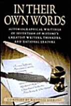 In Their Own Words by Randall Gibbons