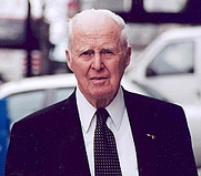 Author photo. Norman Borlaug. Photo by Ben Zinner, USAID.