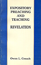 Expository Preaching and Teaching Revelation…