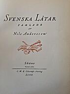 Svenska lt̄ar. 24, Skn̄e IV by Nils…