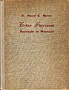 Victor Stuyvaert - Houtsnijder en…