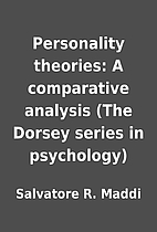 Personality theories: A comparative analysis…