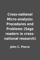 Cross-national Micro-analysis: Procedures…