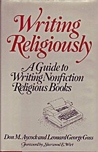 Writing religiously: A guide to writing…