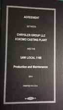Agreement Between Chrysler Group LLC Kokomo…