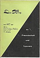 Der Weg (#197) by Various