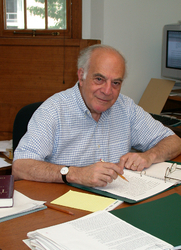 Author photo. Prof. Harry G. Frankfurt. Photo by Denise Applewhite, 2002 (courtesy of Princeton University)