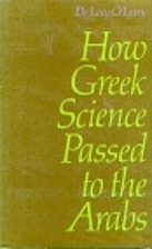 How Greek Science Passed to the Arabs by De…