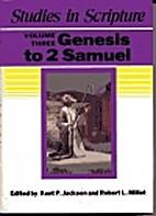 Studies in Scripture, Vol. 3: Genesis to 2…