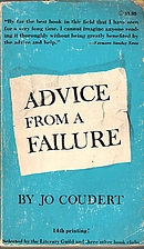 Advice from a Failure by Jo Coudert