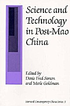 Science and Technology in Post-Mao China…