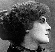 Author photo. Olivia Shakespear, 1897. Wikipedia.