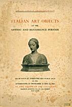 Illustrated catalogue of Italian decorative…