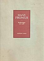 Radierungen, 1977/1978 by Hans Fronius