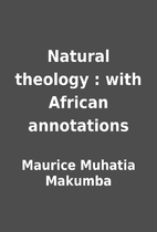 Natural theology : with African annotations…