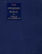The Speaker's Bible: The Gospel…