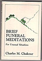 Brief funeral meditations by Charles M.…