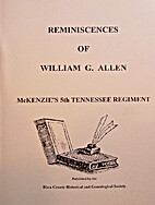 Reminiscences of William G. Allen McKenzie's…