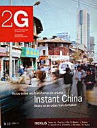 2G-10 Instant China: Notes on Urban…