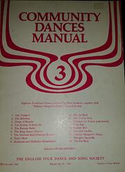 Community Dances Manual: No. 3