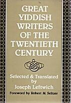 Great Yiddish Writers of the Twentieth…