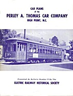 Car Plans of the Perley A. Thomas Car…