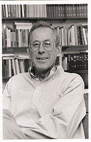 Author photo. Phillip James Peebles, Professor of Physics, Princeton University. Photo by Robert P. Matthews, 1995 (photo courtesy of Princeton University)