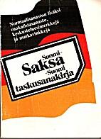 Suomi-saksa-suomi : taskusanakirja by Lauri…