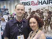 Author photo. Anina Bennett with husband Paul Guinan, <br>San Diego Comic Con 2006<br>Copyright © 2006 <a href=&quot;http://ronhogan.tumblr.com&quot;>Ron Hogan</a>