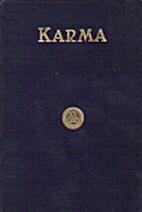 Karma by A. P. Sinnett
