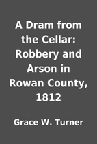 A Dram from the Cellar: Robbery and Arson in…